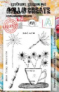 AALL and Create Clear A5 Stamp Set #271 - Cupful of Wishes by Tracy Evans